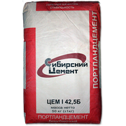 Сибирский цемент М500 Д0 (ЦЕМ I 42.5Б) в мешках по 50 кг (г.Топки)