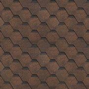 Гибкая Черепица ТЕХНОНИКОЛЬ Shinglas Финская Соната коричневая (упак. 3м2)