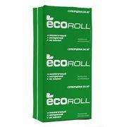 Экоролл Плита 040, 50х610х1230 мм, 16 шт плотность 10кг/м3 упак. 0,6м3=12м2