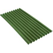 Битумный волнистый лист 950х1950х3мм Ондулин Smart зелёный