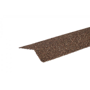 Планка карнизная с гранулятом Бронза