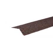 Планка карнизная с гранулятом Красно-коричневый