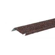 Планка примыкания с гранулятом Красно-коричневый
