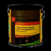 Мастика битумная для фундамента AquaMast18 кг
