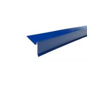 Планка торцевая полиэстер Синий