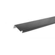 Планка примыкания полиэстер Темно-серый