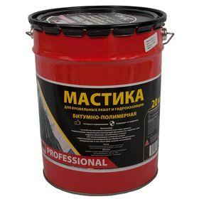 Мастика битумно-полимерная СТН Professional ведро 20 кг